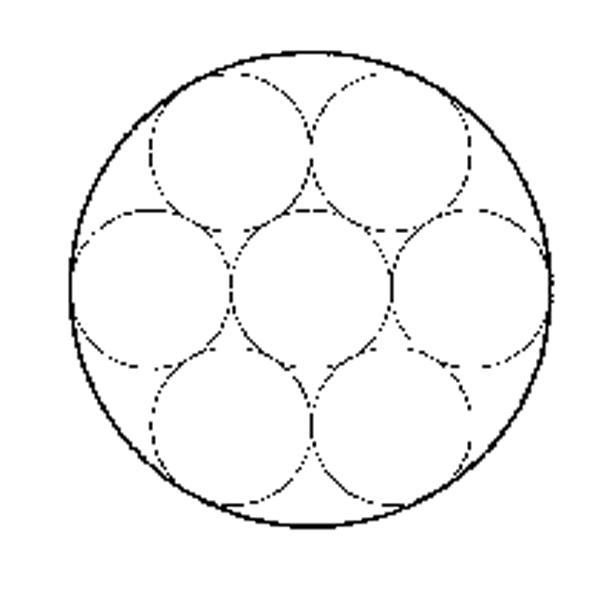单股钢丝绳1×7