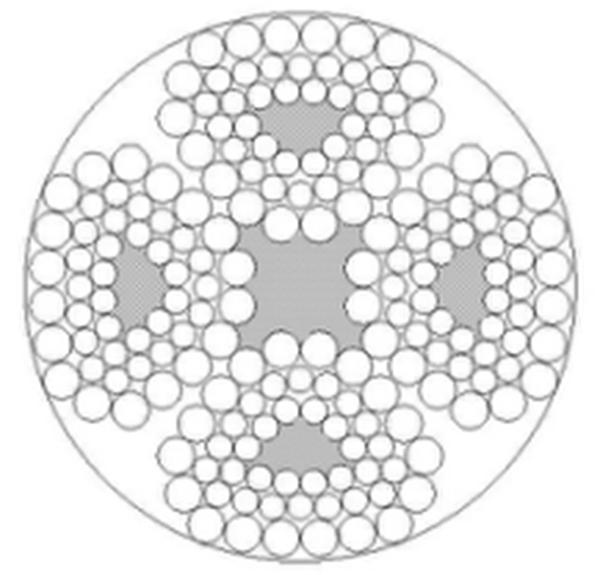 四股钢丝绳4V×48S+FC